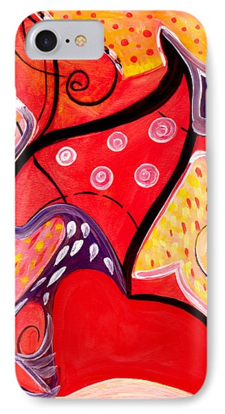 Heart And Soul IPhone Case by Stephen Lucas