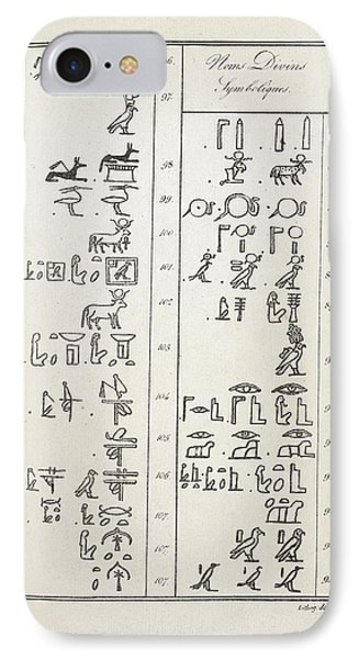 Hieroglyphics Research IPhone Case by British Library