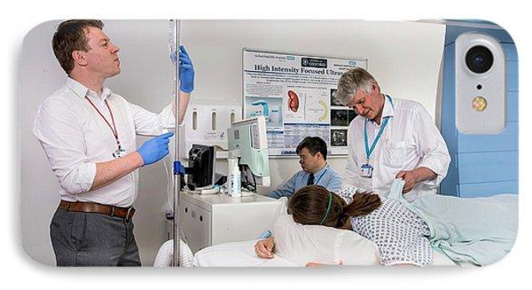High Intensity Focused Ultrasound IPhone Case