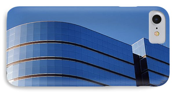 High Section View Of A Building IPhone Case by Panoramic Images