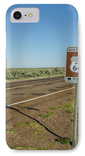 Historic Old Route 66 Passed IPhone Case
