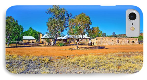 Historical Telegraph Station Alice Springs  Phone Case by Bill  Robinson