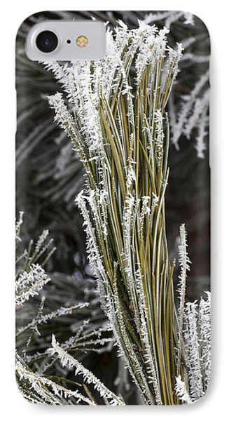 Hoar Frost Phone Case by Steven Ralser