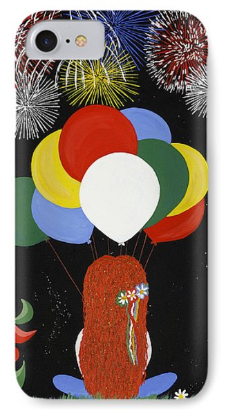 Holiday Magic Phone Case by Nathalie Sorensson