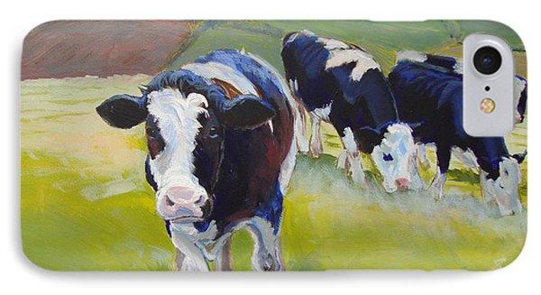 Holstein Friesian Cows IPhone Case