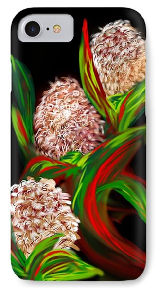 IPhone Case featuring the digital art Hyacinth by Christine Fournier