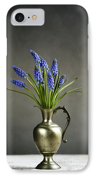 Hyacinth Still Life IPhone 7 Case by Nailia Schwarz