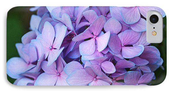Hydrangea Phone Case by Rona Black