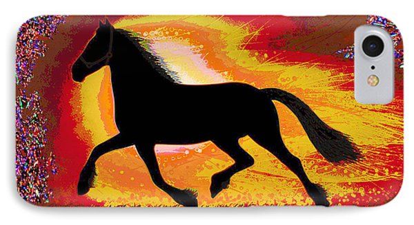If Mind Is A Horse You Need Your Heart And Soul To Control It For The Right Pace And Direction  Succ IPhone Case