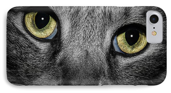 In A Cats Eye IPhone Case