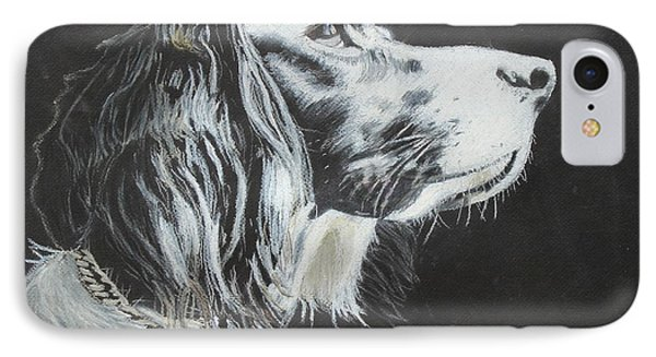 IPhone Case featuring the painting Intent by Jeanne Fischer