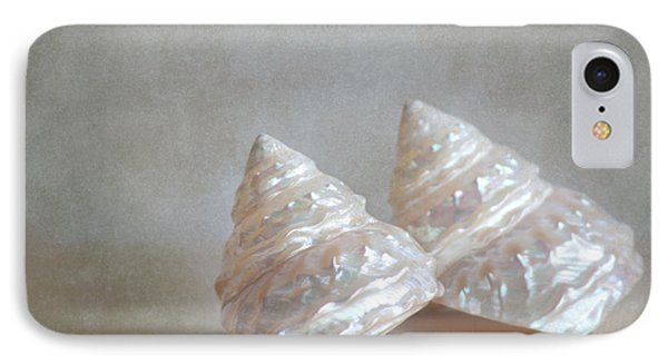 IPhone Case featuring the photograph Iridescent Shells by Aiolos Greek Collections