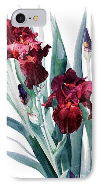 Iris Donatello IPhone Case by Greta Corens