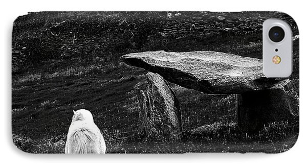 Irish Standing Stones Phone Case by Patricia Griffin Brett