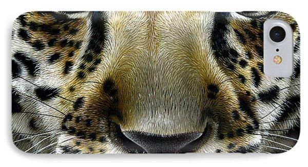 Jaguar Cub IPhone Case by Jurek Zamoyski