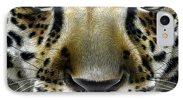 Panther iPhone 7 Case - Jaguar Cub by Jurek Zamoyski