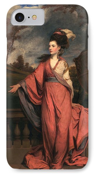Jane Fleming, Later Countess Phone Case by Sir Joshua Reynolds