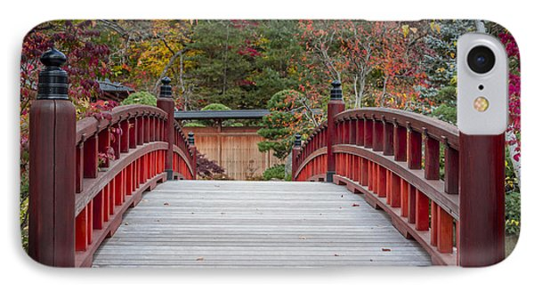 IPhone Case featuring the photograph Japanese Bridge by Sebastian Musial