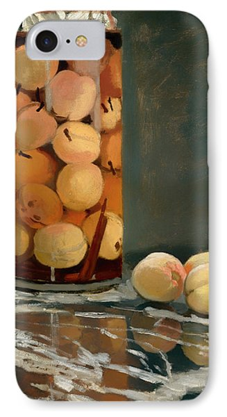 Jar Of Peaches IPhone Case by Mountain Dreams