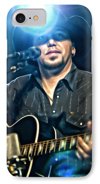 Jason Aldean Phone Case by Don Olea
