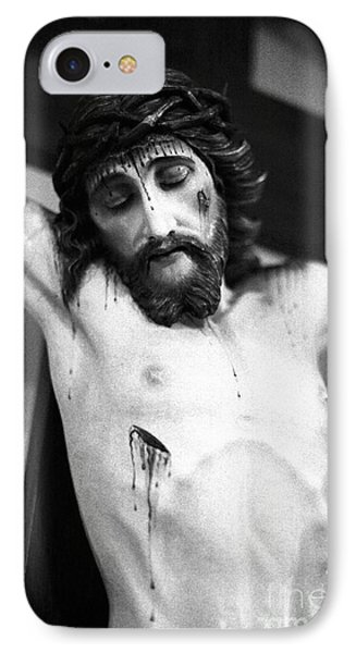 Jesus On The Cross Phone Case by Gaspar Avila