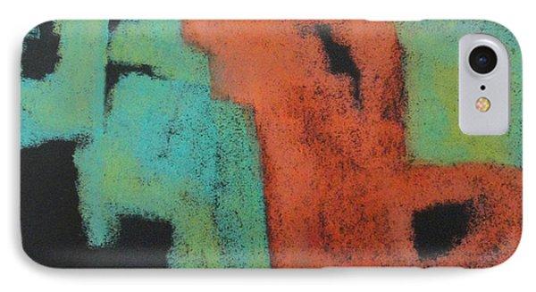 Jigsaw IPhone Case by Katie Black