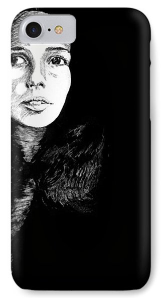 Joan IPhone Case by Carl Genovese