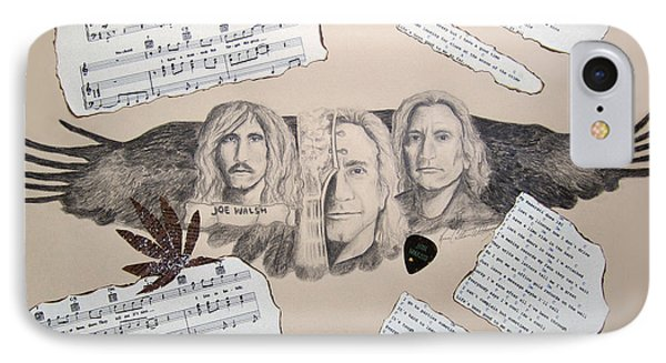 Joe Walsh Good Life Phone Case by Renee Catherine Wittmann