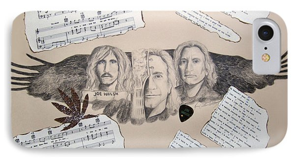 Joe Walsh Good Life IPhone Case by Renee Catherine Wittmann