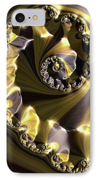 Julia Fractal IPhone Case by Alfred Pasieka