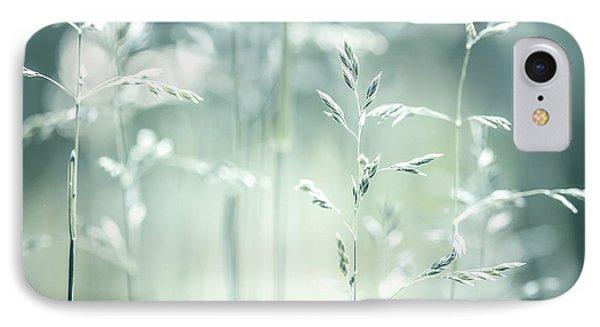 June Green Grass Flowering IPhone Case