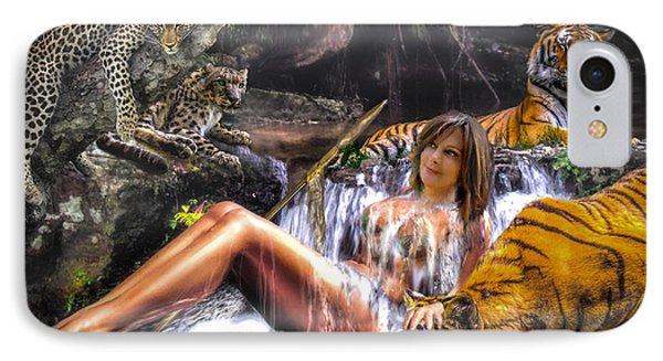 IPhone Case featuring the photograph Jungle Ginns by Glenn Feron