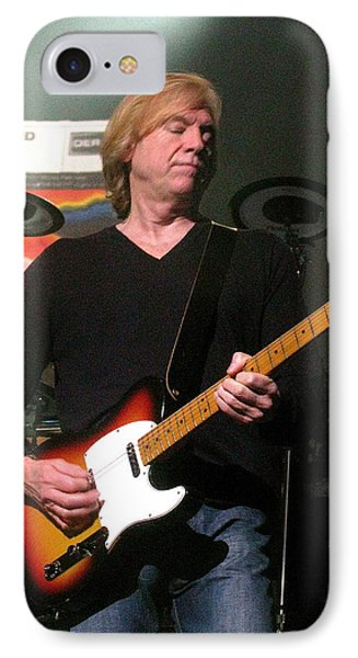 Justin Hayward IPhone Case by Melinda Saminski