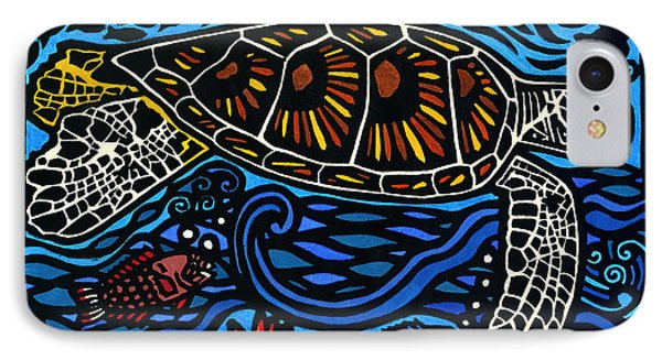 Kahaluu Honu IPhone Case by Lisa Greig