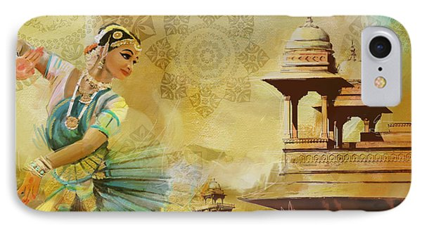 Kathak Dancer IPhone Case by Catf