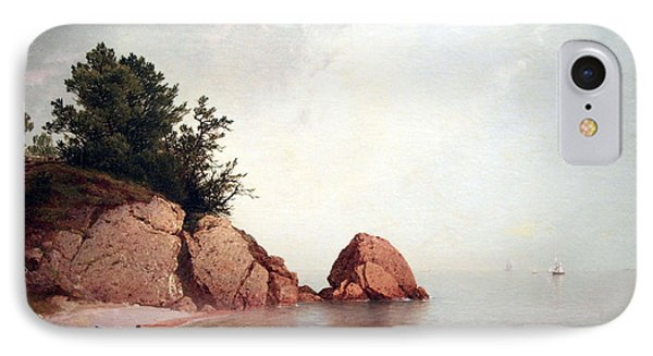 Kensett's Beach At Beverly IPhone Case by Cora Wandel