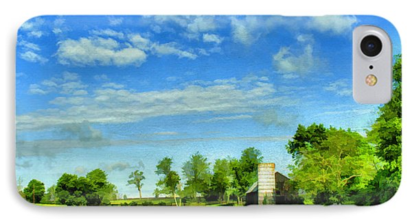 Kentucky Countryside Phone Case by Darren Fisher