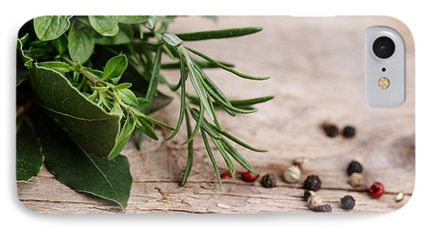 Kitchen Herbs IPhone Case by Nailia Schwarz