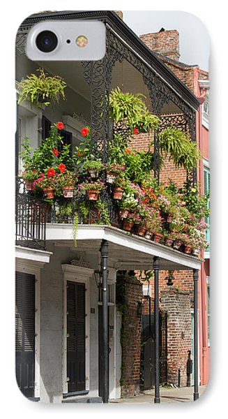 La, New Orleans, French Quarter IPhone Case by Jamie and Judy Wild