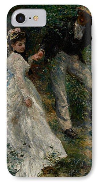La Promenade IPhone Case by Pierre Auguste Renoir