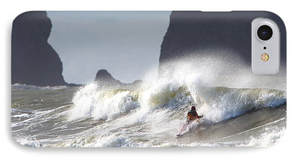 La Push Pummel And Sea Stacks IPhone Case by Gary Luhm