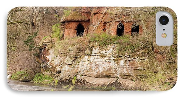 Lacy's Caves On The River Eden IPhone Case by Ashley Cooper