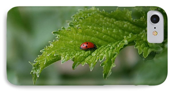 Ladybug Phone Case by Ellen Henneke