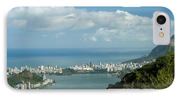 Lagoa Rodrigo De Freitas In Rio De Janeiro IPhone Case