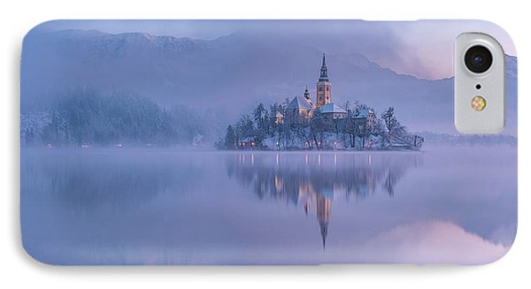 Lake Bled IPhone Case