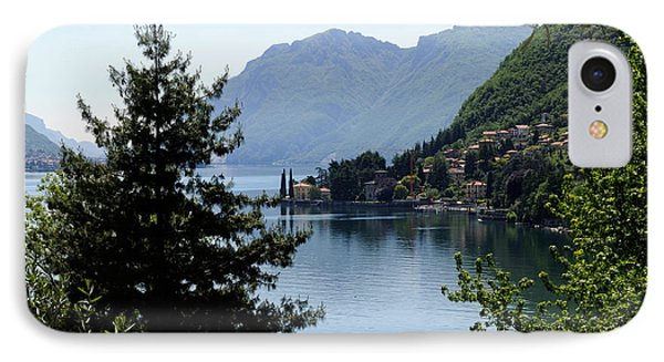 Lake Como Italy  IPhone Case by Haleh Mahbod