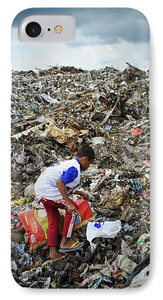 Landfill Scavenging IPhone Case
