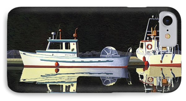Last Light  Island Moorage IPhone Case by Gary Giacomelli