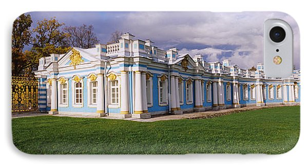 Lawn In Front Of A Palace, Catherine IPhone Case by Panoramic Images