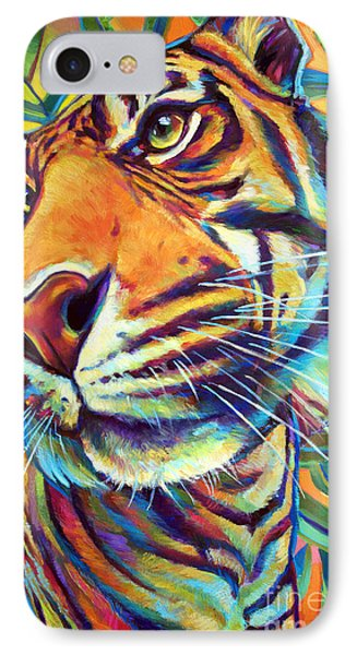 Le Tigre IPhone Case by Robert Phelps